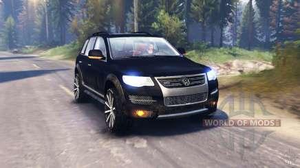 Volkswagen Touareg (7L) v2.0 pour Spin Tires