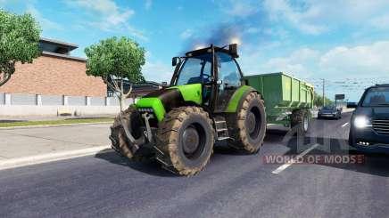 John Deere in traffic pour American Truck Simulator