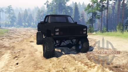 GMC Sierra 2500 pour Spin Tires
