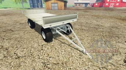 Fortschritt HW 80 bale trailer v1.1 pour Farming Simulator 2015