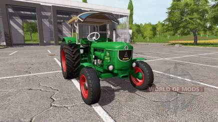 Deutz D80 v1.6 pour Farming Simulator 2017