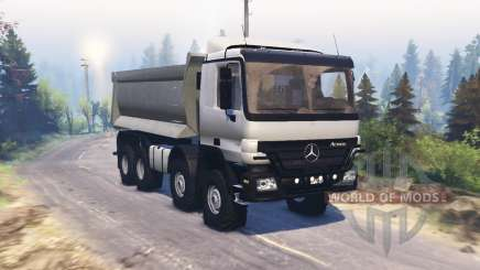 Mercedes-Benz Actros (MP2) 8x8 v1.1 pour Spin Tires