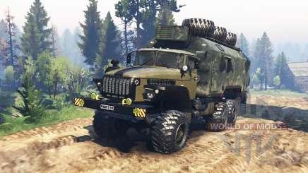 Ural 4320-10 Phantom v1.1 für Spin Tires