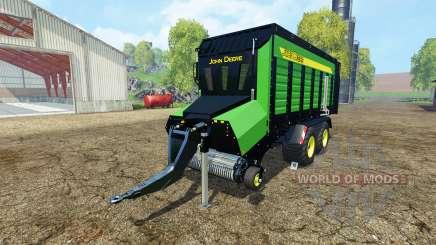 Forage trailer John Deere für Farming Simulator 2015