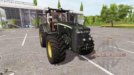 John Deere 8330 black limited pour Farming Simulator 2017