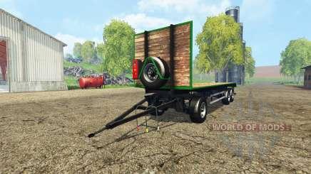 Bale trailer v1.1 pour Farming Simulator 2015