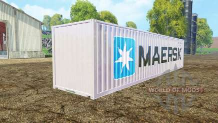 Container 40ft Maersk für Farming Simulator 2015