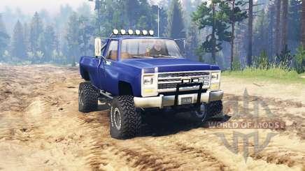 Chevrolet K20 pour Spin Tires