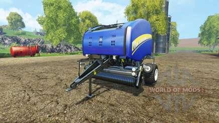 New Holland Roll-Belt 150 blue für Farming Simulator 2015