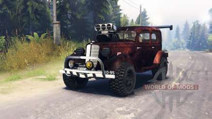 GAZ M1 v1.1 pour Spin Tires