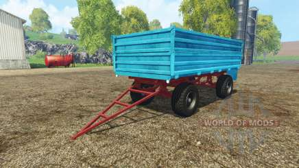 Tractor trailer v2.0 pour Farming Simulator 2015