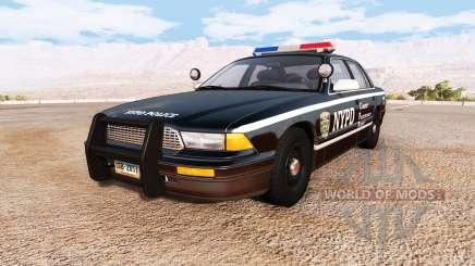 Gavril Grand Marshall NYPD v2.0 pour BeamNG Drive