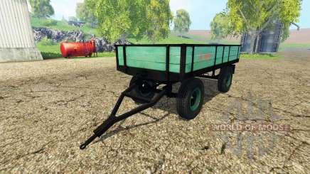 Tractor tipper trailer pour Farming Simulator 2015