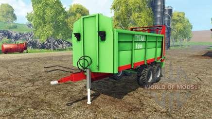 Unia Tytan 8 plus pour Farming Simulator 2015