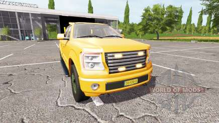 Lizard Pickup TT traffic advisor v1.2 pour Farming Simulator 2017