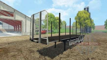 Fliegl universal semitrailer autoload v1.4.1 pour Farming Simulator 2015