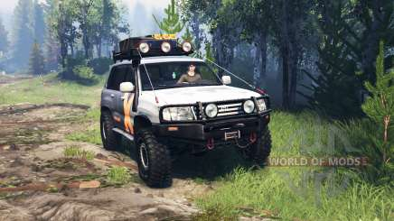 Toyota Land Cruiser 105 v4.0 pour Spin Tires
