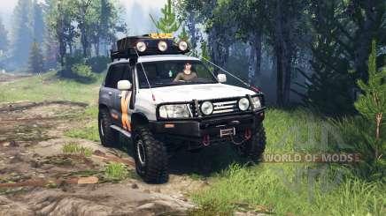 Toyota Land Cruiser 105 v4.0 für Spin Tires