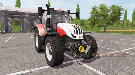 Steyr Profi 4145 CVT pour Farming Simulator 2017
