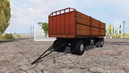 Flachbett-Auflieger MAZ für Farming Simulator 2013