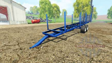 Log Trailer autoload pour Farming Simulator 2015