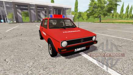 Volkswagen Golf GTI (Typ 17) 1976 pour Farming Simulator 2017
