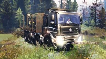 Tatra Phoenix T 158 8x8 v10.0 pour Spin Tires