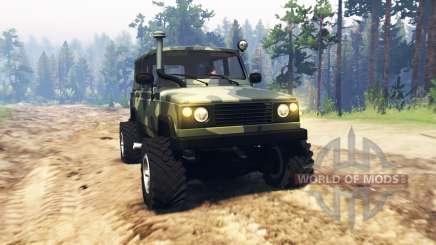 UAZ 3172 Scout pour Spin Tires