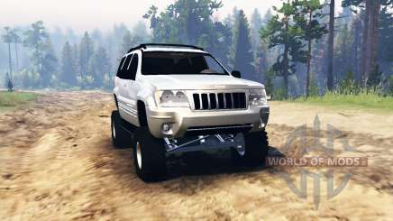 Jeep Grand Cherokee (WJ) 2004 pour Spin Tires