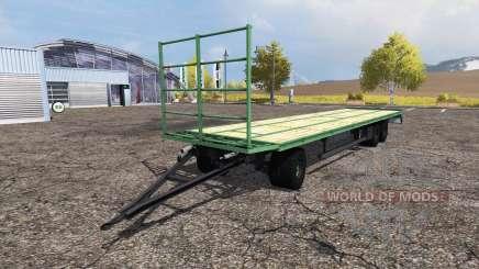 Bale trailer pour Farming Simulator 2013