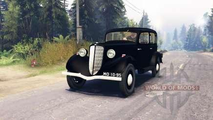 GAZ M1 pour Spin Tires