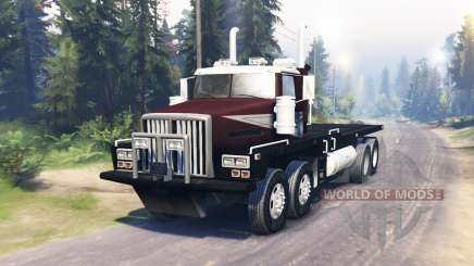 Western Star 6900 pour Spin Tires