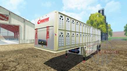 Cimarron livestock Trailer v0.9b für Farming Simulator 2015