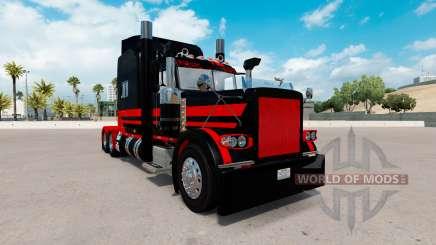 La peau Stani Express pour le camion Peterbilt 389 pour American Truck Simulator