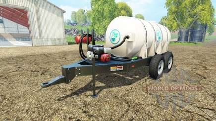 Lizard fertilizer trailer v1.1 pour Farming Simulator 2015