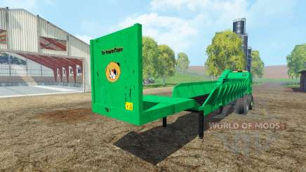 Separarately semi-trailer v1.6 für Farming Simulator 2015