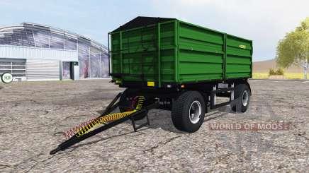 Zaslaw D-737AZ green pour Farming Simulator 2013