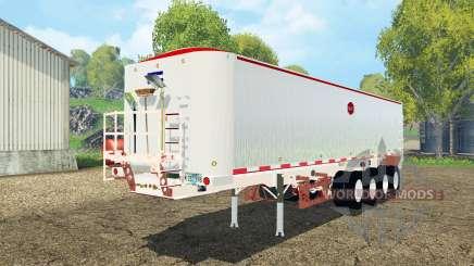 MAC dump semitrailer pour Farming Simulator 2015