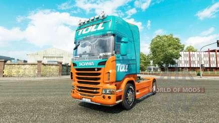 Péage de la peau pour Scania camion pour Euro Truck Simulator 2