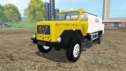 Magirus-Deutz 200D26 1964 milk pour Farming Simulator 2015