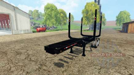 Logging semitrailer pour Farming Simulator 2015