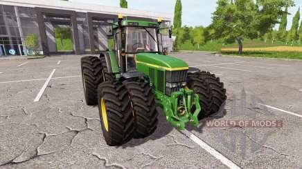 John Deere 7710 v1.5 pour Farming Simulator 2017