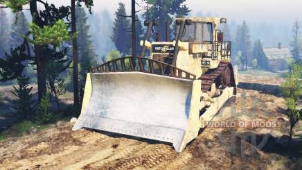 Caterpillar D9 v2.0 pour Spin Tires