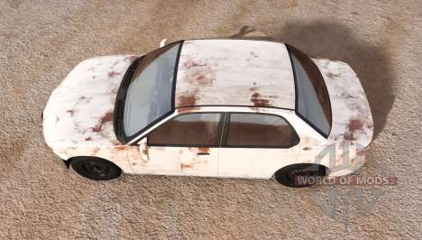 Hirochi Sunburst rusty pour BeamNG Drive