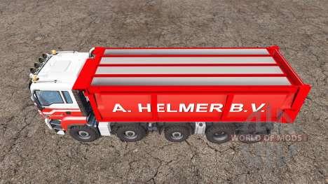 MAN TGS 18.440 A. Helmer B.V. v1.1 für Farming Simulator 2015