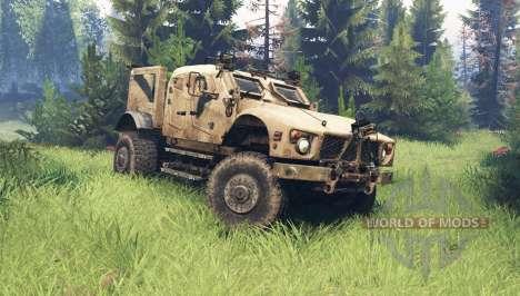 Oshkosh M-ATV pour Spin Tires
