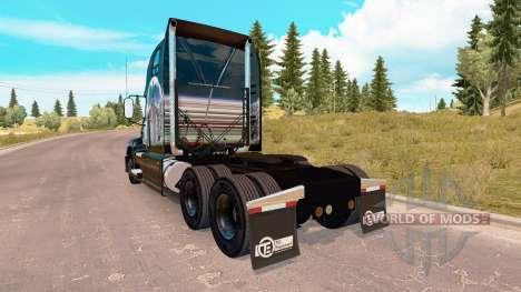 La peau de l'Été Indien sur la Mack Pinnacle tra pour American Truck Simulator