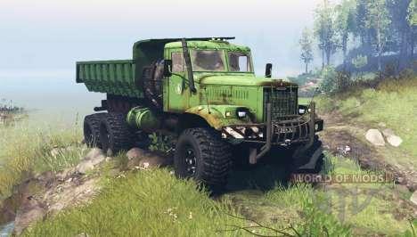 Kraz 255B pour Spin Tires