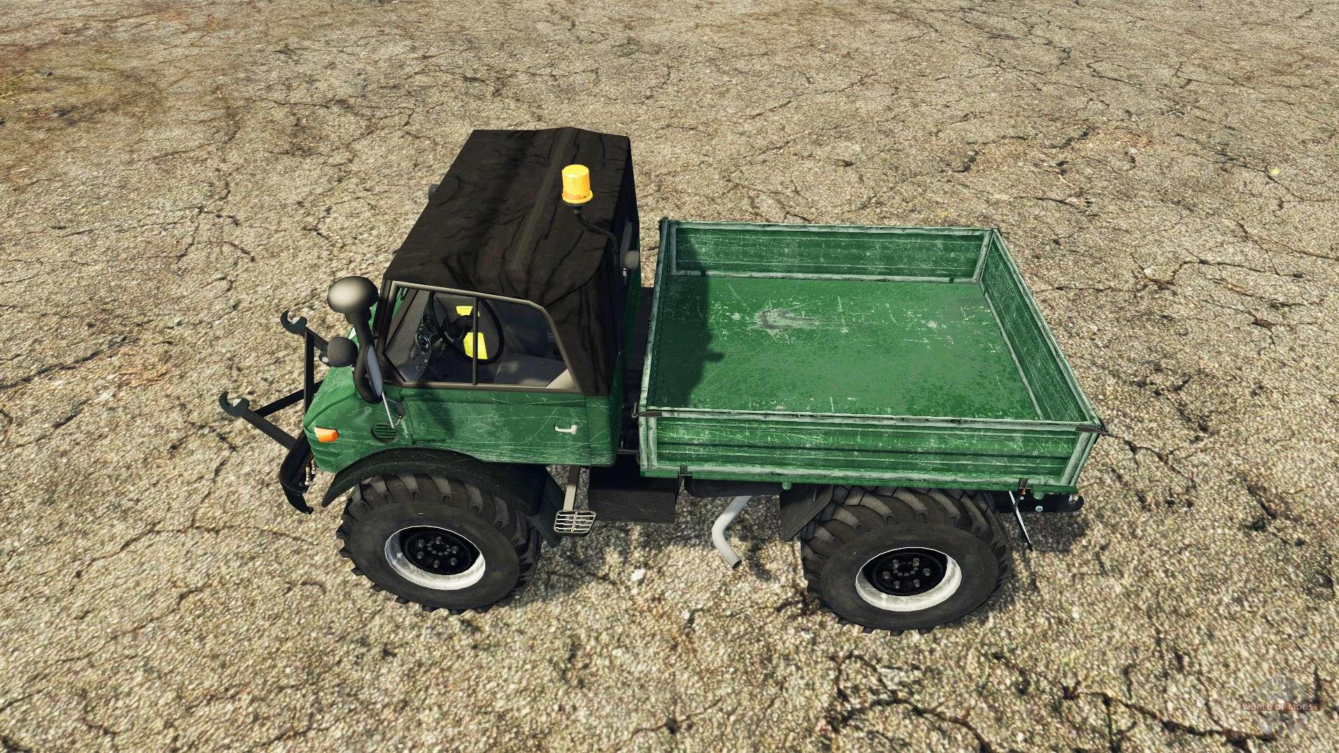 Mercedes-Benz Unimog 406 1973 v2.0 für Farming Simulator 2015