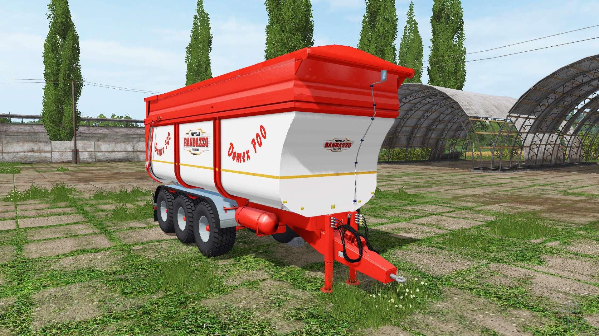 Rimorchi randazzo tr70 v1 0 1 3 pour farming simulator 2017 for Rimorchi randazzo